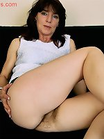 Angie - Mature Hairy Pussy